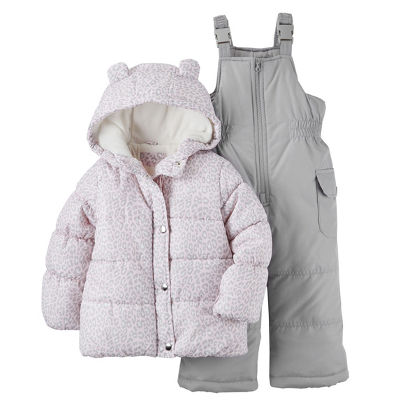 633de71a0 Carter's Jackets & Coats | Carters Baby Girl Jacket Snowsuit Set ...